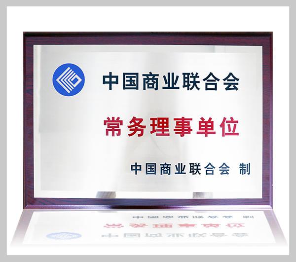 中国商业联合会常务理事单位