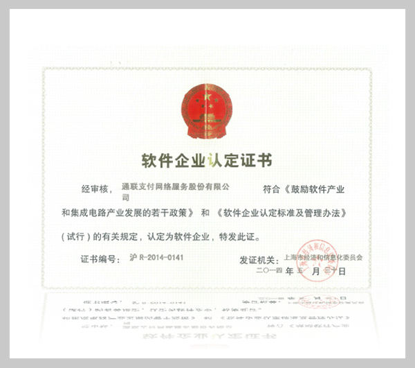上海市软件企业